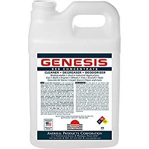 Genesis 950 2.5 Gallon + Spigot - Professional Strength Concentrate, Pet Odor Eliminator, Pet Stain Remover, Carpet Cleaner Shampoo & All Purpose Green Cleaner, Make Stains, Oil/Grease Water Soluble